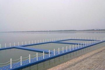 pontoon system