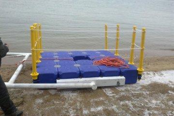 system of pontoons