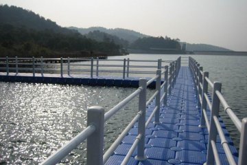 bridge of pontoons