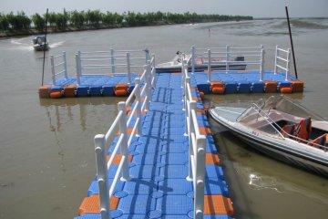 Изграждане на кей за яхти и лодки